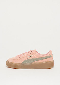 575518c78d48 saleflag Puma Suede Platform SD peach beige-rock ridge-gold-gum8