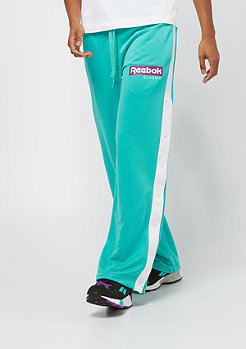 Reebok CLR Snap Trackpant solid teal
