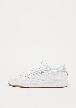 Reebok Club C 85 Cracked white