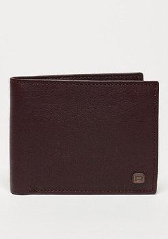 Geldbeutel Button brown