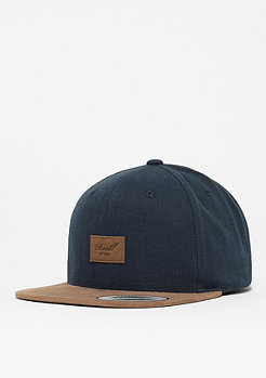 Reell Suede Cap light navy herringbone