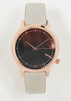 Komono Estelle Mirror rose gold/grey