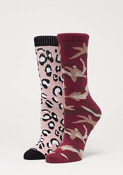 SNIPES 2 Pack AOP Socks multicolor