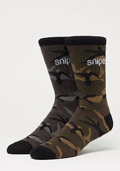SNIPES 2 Pack Camo Crew camo