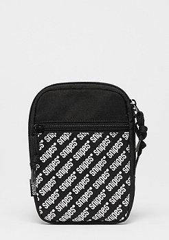SNIPES AOP Cross Bag black/white