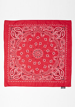 SNIPES Bandana red
