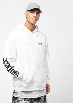 SNIPES Basic Sleeveprint white