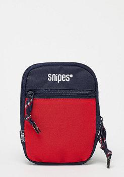 SNIPES Block Cross Bag red/navy