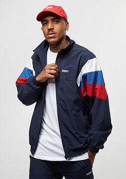 SNIPES Block Trackjacket navy/white/red