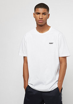 T-Shirt Chest Logo white/black embroidery