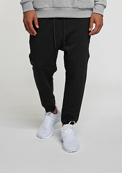 Trainingshose Interlock Cropped black