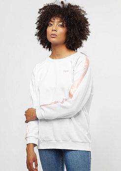 SNIPES Basic Logo Stripe white/silver pink