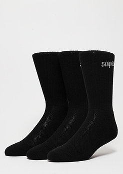SNIPES Sportsocke Performance Crew 3er black