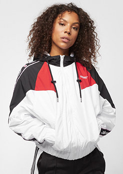 SNIPES Tape Block Windbreaker white/true red/black
