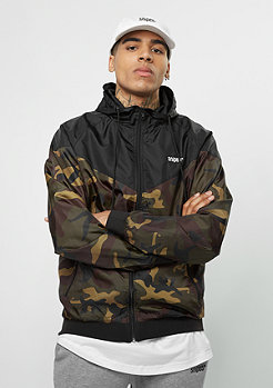 SNIPES Trainingsjacke camo/black