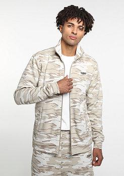 SNIPES D. Camo Trackjacket beige/lt. brown/grey