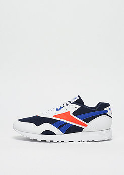 Reebok Rapide white/collegiate navy/vital blue/bright lava