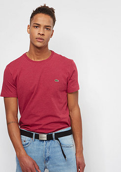 Lacoste Short Sleeved Crew Neck red