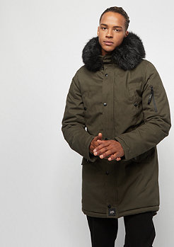 Sixth June Parka With Fur khaki/black