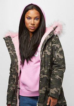Sixth June Parka camouflage/light pink