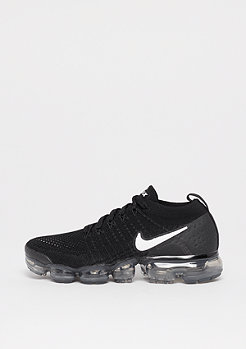 NIKE Air VaporMax Flyknit 2 black/white-dark grey-metallic silver