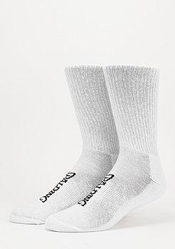 Sportsocke High Cut 2er white