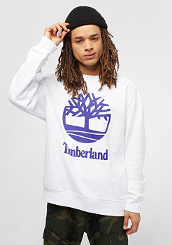 Timberland Stacked Logo white