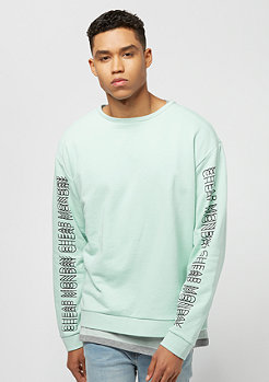 Cheap Monday Snooze Repeat Text mint