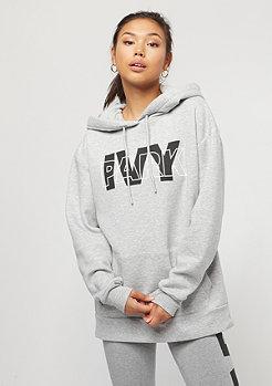 IVY PARK Layer Logo Oh Hoody light grey marl