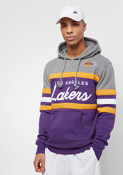 Mitchell & Ness NBA Head Coach LA Lakers grey/purple