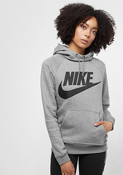 NIKE Rally Logo carbon heather/cool grey/black