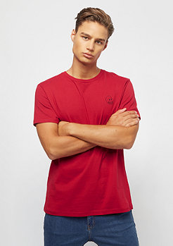 Cheap Monday Standard tee Tiny skull dark red