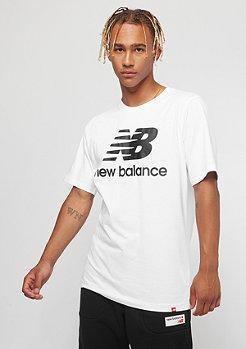 New Balance Essentials Stacked Logo white