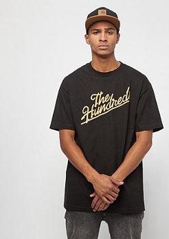 The Hundreds Modesto Slant T-Shirt black