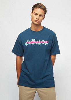 The Hundreds Bubble Bar T-Shirt harbor blue