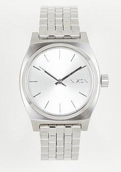 Nixon Medium Time Teller all silver