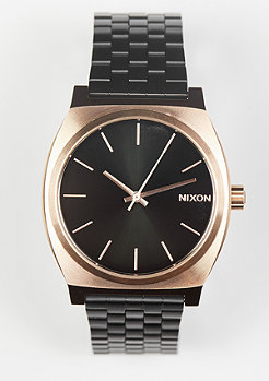Nixon Uhr Time Teller black/rose/black