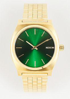 Nixon Time Teller gold/green sunray