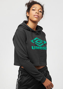 Umbro Cropped Oh Hood black/parasail