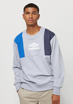 Umbro Hampden Crew Sweat grey marl