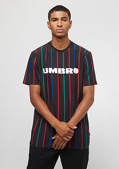 Umbro Malone Pin Stripe Tee black