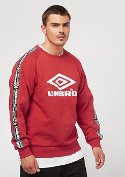 Umbro Taped Crew Sweat lava