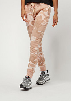Urban Classics Camo Terry Pants rose