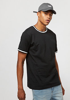 Urban Classics College Pocket Tee black white