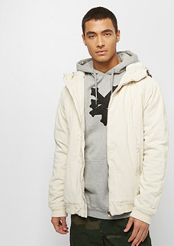 Urban Classics Hooded Corduroy lightsand/offwhite