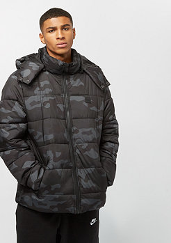 Urban Classics Hooded Camo Puffer dark camo