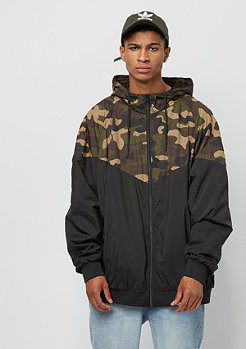 Urban Classics Oversize Pattern Arrow black/wood camo