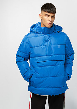 Urban Classics Pull Over Puffer bright blue