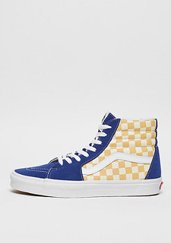 VANS SK8-Hi true (Checkerboard) blue/yellow