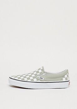 VANS UA Classic Slip-On checkerboard desert sage/true white